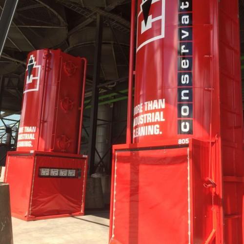 Dekkleden voor silo's