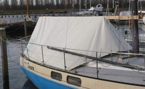 Afdekhoes voor zeilboot c.q. motorboot